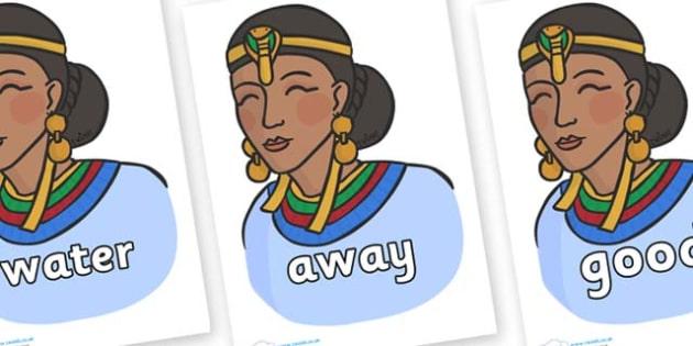 Next 200 Common Words on Egyptian Women - Next 200 Common Words on  - DfES Letters and Sounds, Letters and Sounds, Letters and sounds words, Common words, 200 common words