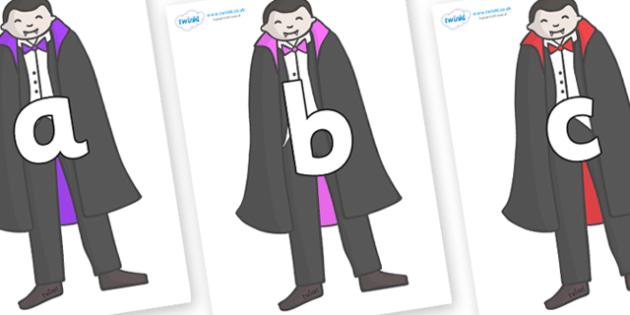 Phoneme Set on Vampires - Phoneme set, phonemes, phoneme, Letters and Sounds, DfES, display, Phase 1, Phase 2, Phase 3, Phase 5, Foundation, Literacy