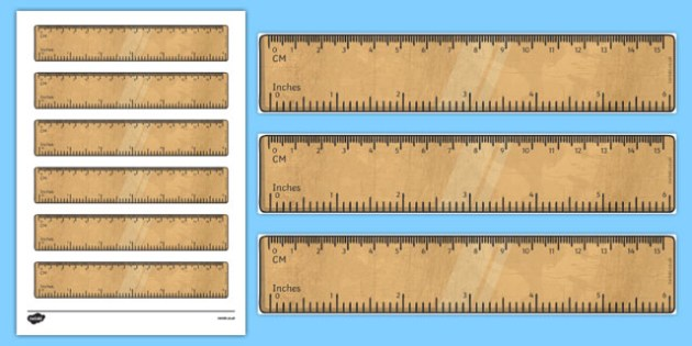 photo about Printable 6 Inch Ruler referred to as 6 Inch Ruler Printable Math Resource