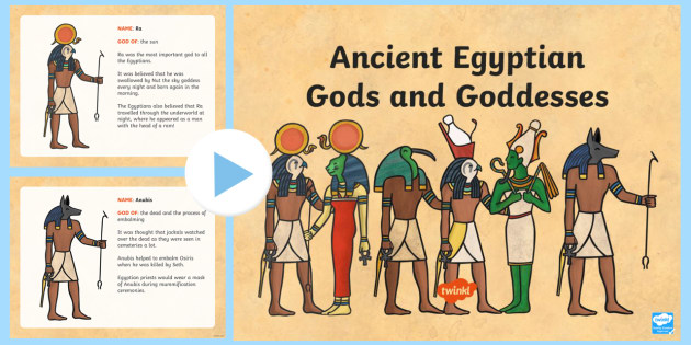 Stories Of Ancient Egyptian Gods And Goddess