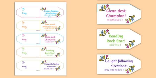 Achievement Brag Tags Mandarin Chinese Translation - mandarin chinese, achievement, brag tags, brag, tag, award, reward, collect, effort