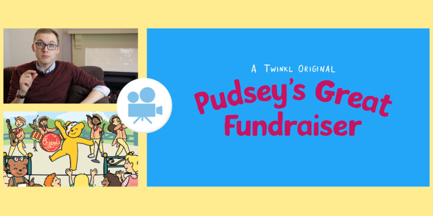 Pudsey's Great Fundraiser Book Reading Video