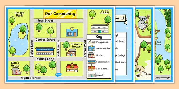 town and tourist attraction maps teacher made town and tourist attraction maps