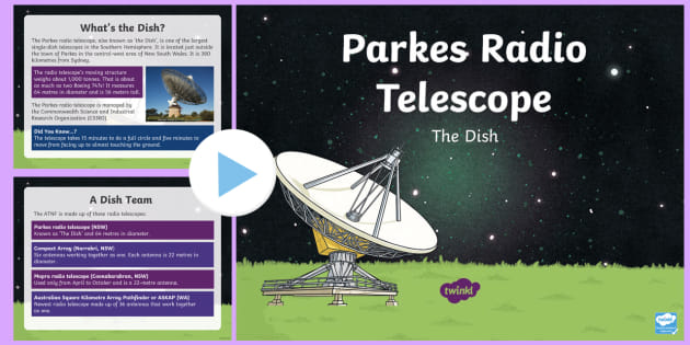 NEW * Parkes Radio Telescope PowerPoint