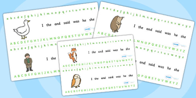 Alphabet Strips to Support Teaching on Percy the Park Keeper - percy the park keeper