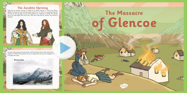 The Massacre Of Glencoe PowerPoint Massacre Glencoe