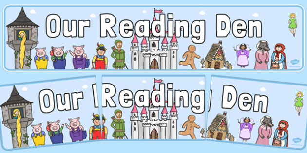 Our Reading Den Display Banner - our, reading, den, display, banner