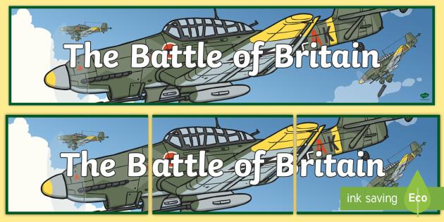 Battle of Britain Display Banner - battle of britain, display banner, display, banner, battle, britain