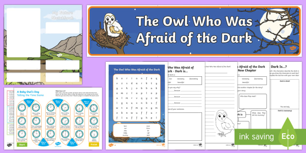 Resource Pack to Support Teaching on The Owl Who Was Afraid of the Dark - The Owl Who Was Afraid Of The Dark, stars, light, fireworks, day, night, nocturnal, Barn owl, huntin