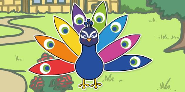 Peacock Reward Activity - activities, rewards, game, peacocks