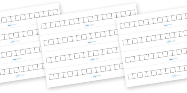 Blank Number Track (Small) - blank number track small, number track, blank, numbers, number, numeracy, small, track, maths, Math, dumber tracks