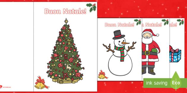Biglietti Buon Natale.Biglietti Di Natale Scuola Primaria Classe Prima E Seconda