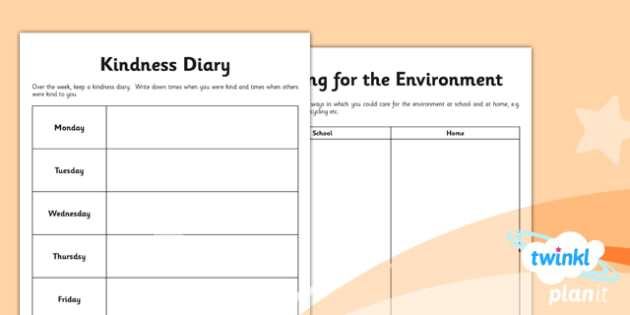 RE: Caring for Others Year 1 Unit Home Learning Tasks