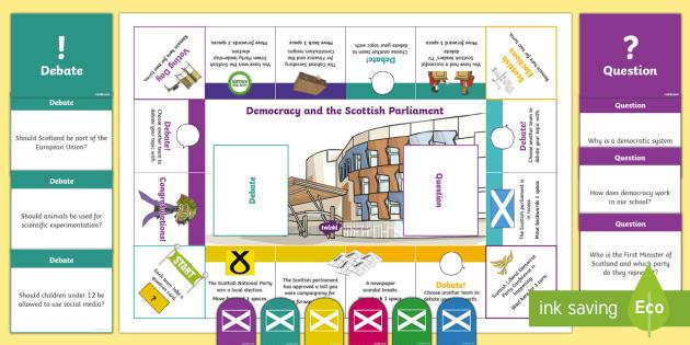 Democracy and the Scottish Parliament Game-Scottish