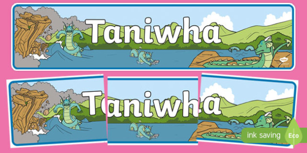 Taniwha Display Banner