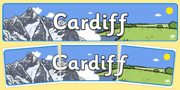 Cardiff Role Play Banner - cardiff, role-play, banner, display