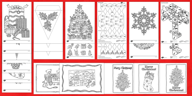 Christmas Mindfulness Colouring Bumper Resource Pack