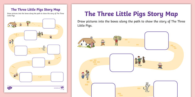 It's just a picture of Story Map Printable regarding character