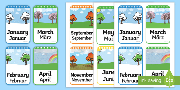 English teaching worksheets: Months of the year