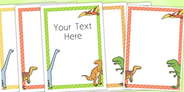 Dinosaur Themed Birthday Party Editable Poster - birthday, poster