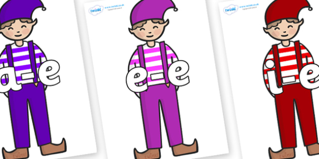 Modifying E Letters on Elf (Boy) - Modifying E, letters, modify, Phase 5, Phase five, alternative spellings for phonemes, DfES letters and Sounds