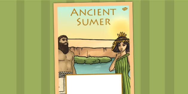 Ancient Sumer Book Cover - history, ks2, ancient sumer, sumer