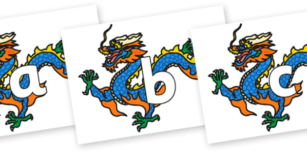 Phoneme Set on Chinese Dragon - Phoneme set, phonemes, phoneme, Letters and Sounds, DfES, display, Phase 1, Phase 2, Phase 3, Phase 5, Foundation, Literacy