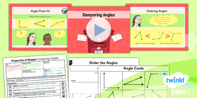 PlanIt Maths Y4 Properties of Shapes Lesson Pack Angles (2)