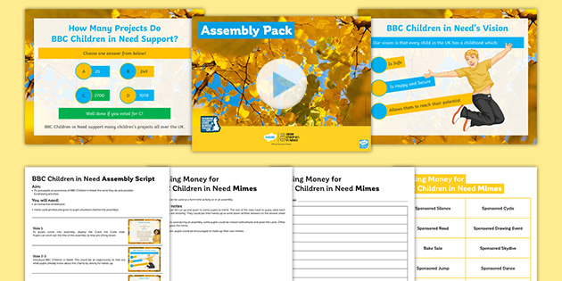 BBC Children in Need: Assembly Pack