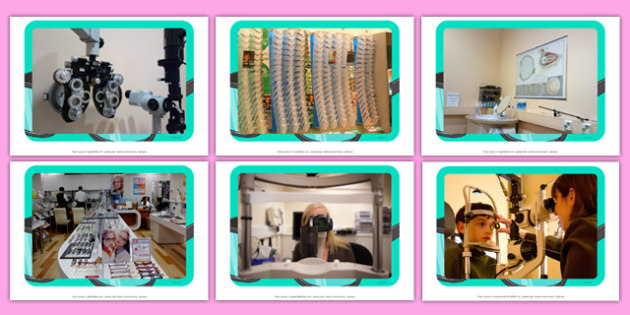 Opticians Display Photos - Opticians, glasses, eye test, numbers, letter, shapes, clearly, improve, sight