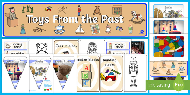 Toys From The Past Resource Pack - Reminiscence, toys, toys from the past