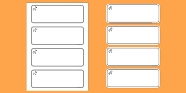 Zebra Themed Editable Drawer-Peg-Name Labels (Colourful) - Themed Classroom Label Templates, Resource Labels, Name Labels, Editable Labels, Drawer Labels, Coat Peg Labels, Peg Label, KS1 Labels, Foundation Labels, Foundation Stage Labels, Teaching La