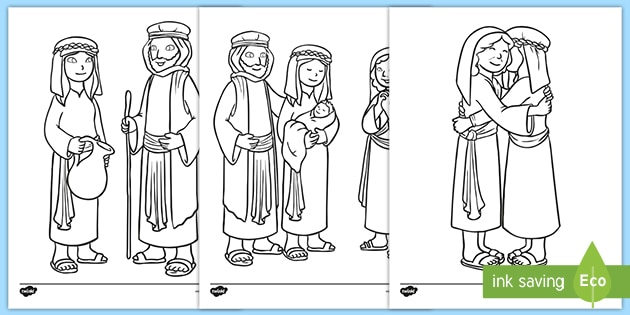 New Testament Bible Coloring Pages