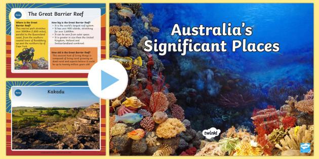 australian significant places powerpoint australia