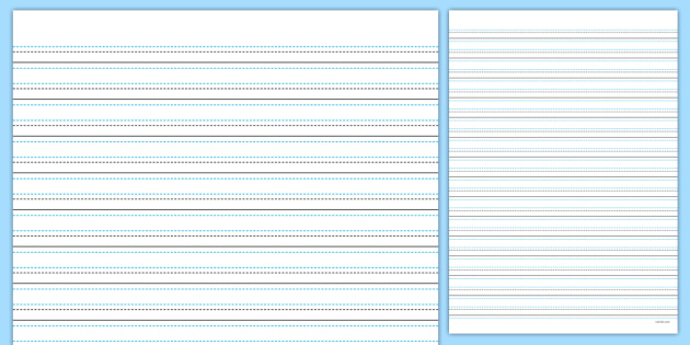 Twinkl Handwriting Lined Paper the journey to handwriting – Lined Paper