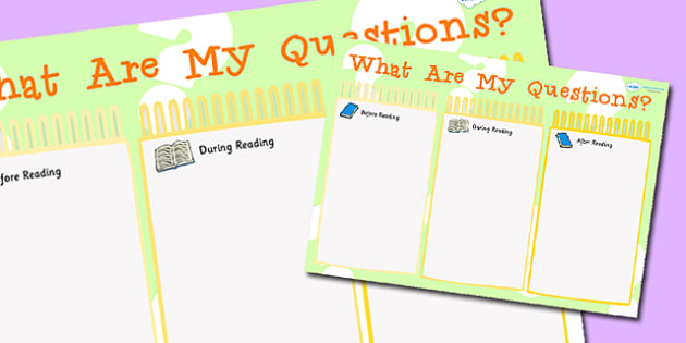 What Are My Questions Reading Writing Notice Board - read, write