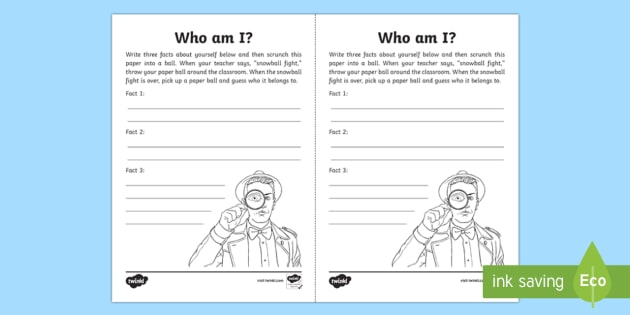 Snowball Fight Icebreaker Game - Beginning of School Resources, icebreaker, game, getting to know you, fun, snowball, guess who
