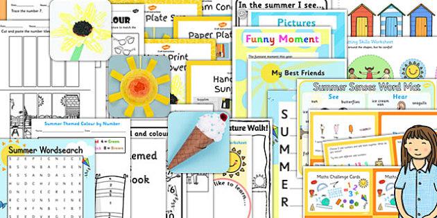 KS1 Summer End of Year Activity Pack - KS1 Transition Ideas