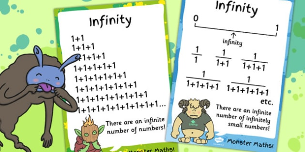 Infinity Maths Display Posters - poster, display, displays, math