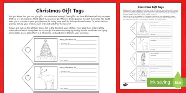 Christmas Gift Tags Craft-Australia