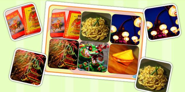 Chinese New Year Photo Matching Board - Chinese, New, Year, Australia