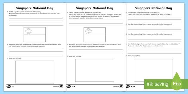 singapore national day differentiated worksheet worksheets singapore. Black Bedroom Furniture Sets. Home Design Ideas
