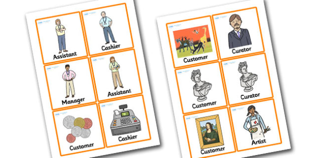 Art Gallery Role Play Badges - art gallery, role play, badges, art gallery badges, role play badges, art gallery role play, badges for art gallery