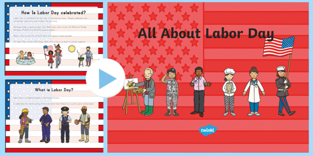 All About Labor Day Powerpoint