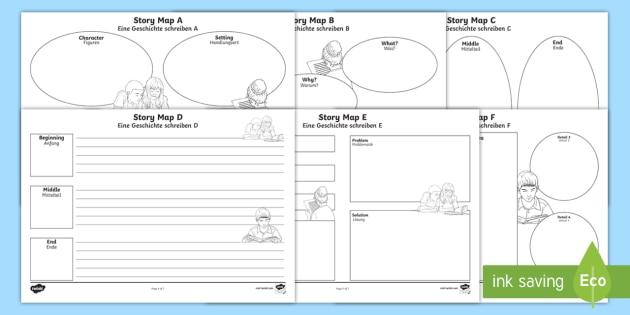 Story map worksheet activity sheets englishgerman map story map worksheet activity sheets englishgerman map literacy writing ibookread ePUb