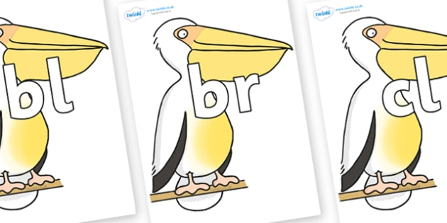Initial Letter Blends on Pelican to Support Teaching on The Great Pet Sale - Initial Letters, initial letter, letter blend, letter blends, consonant, consonants, digraph, trigraph, literacy, alphabet, letters, foundation stage literacy