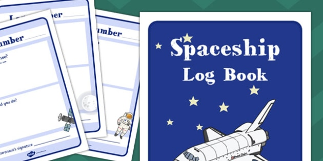 spaceship role play log book