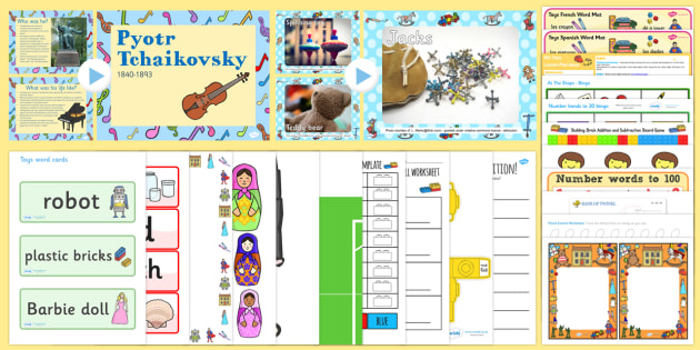 Toys KS1 Lesson Plan Ideas and Resource Pack - lesson plan, toys