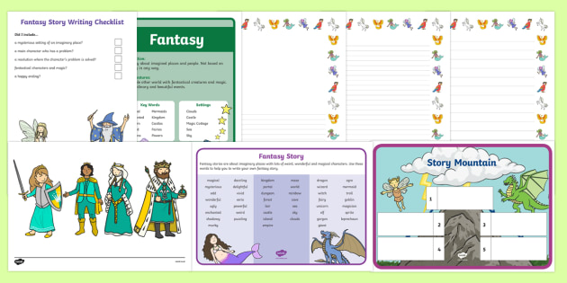 KS1 Fantasy Story Writing Resource Pack - KS1, fantasy story