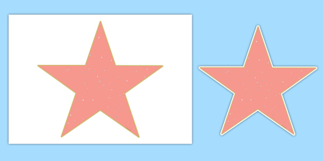 graphic regarding Star Printable Cutouts referred to as Hollywood Stroll of Fame Editable Celebs Lower-Outs - changeover